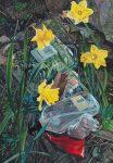 Daffodils, 50x35cm, 2018