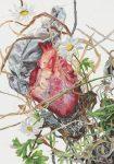 Heart, 50x35cm, 2018